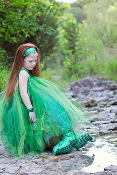Mermaid Costume from etsy