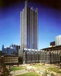 Image result for Philip Johnson's PPG Building in Pittsburgh (1984)