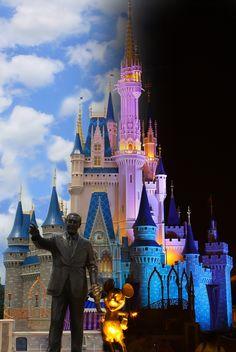 Disney Day and Night☀