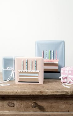 Watch the video tutorial and discover a cute and new way of wrapping birthday presents.