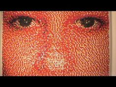 15,000 Push Pins Portrait, for my 15th thousandth pin I will pin a picture of 15,000 pins