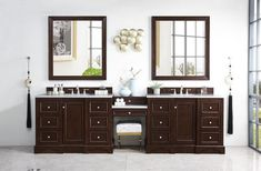 Bathroom How Can I Replace A Long Double Vanity With Two . Double Sink Vanity Designs That Make Sharing Fun And Easy. Bathroom Vanity Lighting Covered In Maximum Aesthetic . Double Sink Bathroom, Bathroom Red, Steam Showers Bathroom, Bathroom Sink Vanity, Vanity Set, Small Bathroom, Master Bathroom, Bathroom Ideas, Bathroom Organization