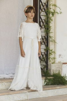 Gerbera Artist Girls Dresses, Flower Girl Dresses, Moda Chic, Gerbera, Bridesmaid Dresses, Wedding Dresses, Girly Girl, Casual, Children