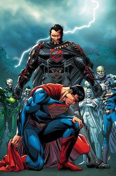 ACTION_COMICS_981Path to Doom parte cinco! Con la seguridad de su familia colgando en el equilibrio, Superman se enfrenta a Doomsday para finalmente poner fin a la rabia destructiva de la bestia. Para salvar a su esposa e hijo, Superman debe superar el monstruo que una vez lo mató, o morir intentando!