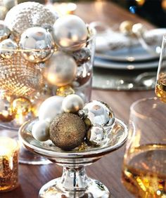 cute holiday decor for a winter reception