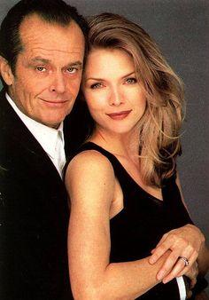 Jack Nicholson and Michelle Pfeiffer.