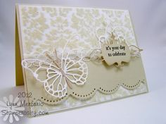 Such a great card by Lynn!  I want this butterfly!