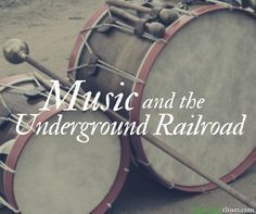 How did music play a part in the Underground Railroad? How did slaves express forbidden feelings and desires, such as anger, resentment, or a longing for freedom?These are the essential questions explored in this short unit, which was taught in collaborat Black History Books, Black History Month, Music Lesson Plans, Music Lessons, Middle School Music, Underground Railroad, Music Activities, Preschool Music, History Activities