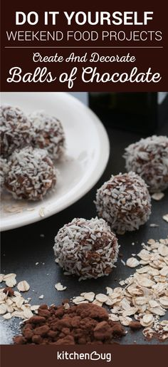 Are you having trouble finding easy recipes to make together with your kids on Sunday morning? Not anymore! Let your kids make these chocolate balls just create and decorate! You will both have a great time and enjoy the sweetness for sure! Let us know what you think :)
