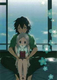 Tags: Anime, Mizuki Makoto, Ano Hi Mita Hana no Namae o Bokutachi wa Mada Shiranai., Honma Meiko, Yadomi Jinta