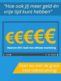 """""""Hoe Ik Elke Maand Minimaal 7500,- Euro Op Het Internet Verdien Met Affiliate Marketing"""" Geld verdienen door een Passief Inkomen op te bouwen."""