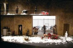 The Barber of Seville (Scale model). Stanislavsky Nemirovich-Danchenko Musical Theatre. Scenic design by Alexander Arefyev. 2010