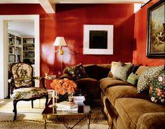 todd romano red shiney wall den