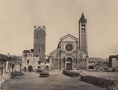 Maurizio Lotze - Basilica of San Zeno (San Zeno Maggiore), Verona, 1860