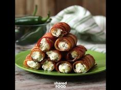Jalapeno Poppin' Cannolis Take Your Love of Cream Cheese and Bacon to a Whole New Level!