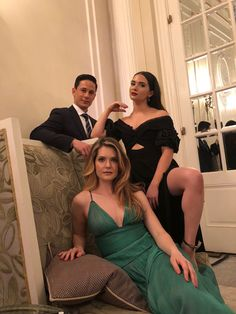"""""""We were all kinds of extra on this particular evening. I regret nothing. Special shout out to calf muscle Fashion Tv, Modern Fashion, Fashion Outfits, The Bold Type Freeform, Katie Stevens, Be Bold, Celebs, Female Celebrities, Tv Shows"""