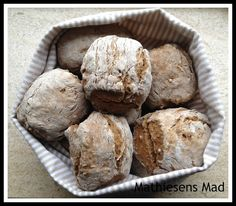 Rugboller - Mathiesens Mad Cooking Recipes, Healthy Recipes, What's Cooking, Healthy Food, Bread Bun, What To Cook, Scones, Muffin, Lunch