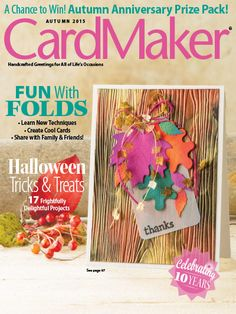 CardMaker Autumn 2015. Order here: https://www.anniescatalog.com/detail.html?prod_id=126043