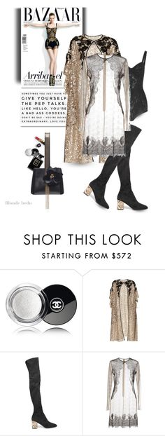 """""""Give them something to talk about"""" by blonde-bedu ❤ liked on Polyvore featuring Chanel, Jill Stuart, Antonio Marras, Burberry, Francesco Scognamiglio and Lanvin"""
