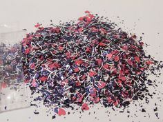 Solvent Resistant Glitter Mix  Girl Power  5 von CustomNailArt, $3.00