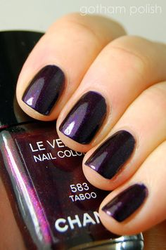 Chanel taboo. Love the color. Gorgeous.