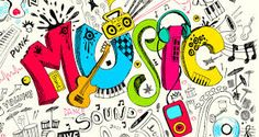 Find the best prices on Ambesonne Music Curtains, Pop Art Featured Doodle Style Musical Background with Instruments Sound Art Illustration, Living Room Bedroom Window Drapes 2 Panel Set, 108 W X 63 L Inches, Multicolor and save money. Free Illustrations, Illustration Art, Music Doodle, Doodle Wall, Graffiti, Best Mobile Apps, Street Art, Sound Art, Music Backgrounds