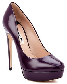 Miu Miu Patent Platform Pump is on Rue. Shop it now.