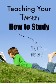 If you have a tween, then you know what I'm talking about.  This can be tough! Teaching your tween how to study - Keeping Life Sane
