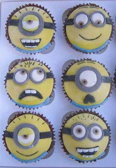 #Minion cupcakes