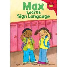 Max learns sign language