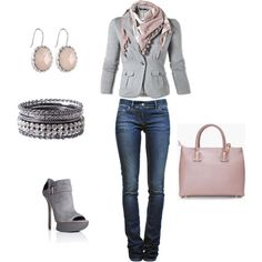 Grey Day, created by christa72 on Polyvore