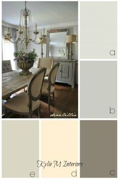 decorating and paint colour ideas for a farmhouse, rustic, or country style room