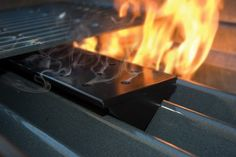 Charcoal Companion Non-Stick Gas Grill V-Shape Smoker Box Long - Availability: in stock - Price: £10.00