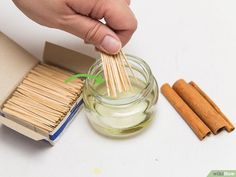 How to Make Cinnamon Toothpicks: 9 Steps (with Pictures) - wikiHow Cinnamon Toothpicks, Flavored Toothpicks, Cinnamon Candy, Cinnamon Extract, Cinnamon Oil, Cinnamon Sticks, Clean Eating Snacks, Food Photography, Favorite Recipes