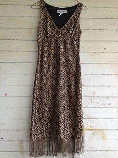 Vintage Fringe Dress!