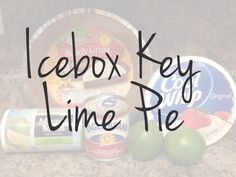 The Southern Belles Icebox Key Lime Pie Recipe | A Southern Kitchen and Craftroom