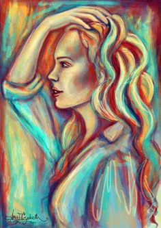 Why Not Me by *airyfairyamy-I love the colors and the style in which it was painted.