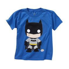 DC Comics Kids' Batman Graphic Tee ($6) ❤ liked on Polyvore featuring baby, baby clothes, baby boy, baby boy clothes and batman