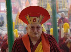 HE Goshir Gyaltsab Rinpoche. the Goshir Gyaltsab Rinpoche is one of the main Rinpoches of Karma Kagyu lineage.