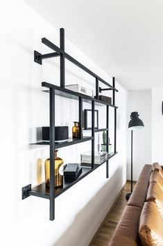 Shelving, Loft, Furniture, Home Decor, Products, Industrial Design, Minimalist, Ad Home, Living Room