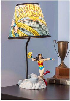 wonder woman lamp