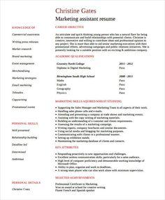 product marketing engineer resume marketing resume samples for