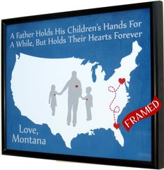 personalized christmas gift for dad from daughter son #picmats, $39.00