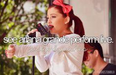 see ariana grande perform live xx Ariana Grande Selena Gomez, Ariana Grande Concert, Bae, Perfect Live, Ariana Grande Wallpaper, Just Girly Things, Before I Die, Fancy Hairstyles, Hollywood Celebrities