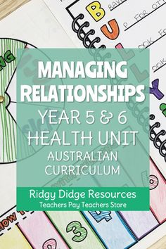 Engage your students in meaningful discussions and equip them with strategies to deal with relationship issues with this easy to implement unit designed to complement the Year 5 and 6 Australian Healt Healthy Vs Unhealthy Relationships, Toxic Relationships, Relationship Issues, Paragraph Writing, Persuasive Writing, Writing Rubrics, Opinion Writing, Poetry Lessons, Health Unit