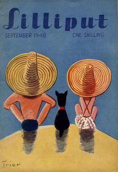 Walter Trier | Lilliput Magazine 1948