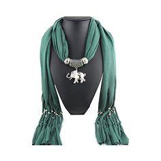 Jemis Women' s Elepant Pendant Scarf 70*16 Inch Pine Green Jemis http://www.amazon.com/dp/B00PWJ79OO/ref=cm_sw_r_pi_dp_n6q6vb0AF6MWK