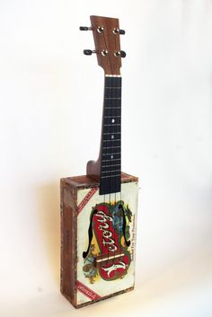 not the greatest yet def still learning but when I get better I'm buying a cigar box ukulele