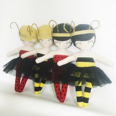 Lana Ladybug Rag Doll - READY TO SHIP by rileyconstruction on Etsy https://www.etsy.com/listing/245458426/lana-ladybug-rag-doll-ready-to-ship