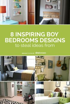 Before you decorate your son's room, check out eight clever boy bedroom designs to borrow ideas from.